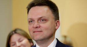 Szymon Hołownia pozwał Skarb Państwa ws. prawa wyborczego