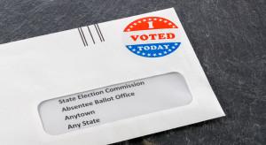 Czterech na pięciu Amerykanów za głosowaniem drogą korespondencyjną