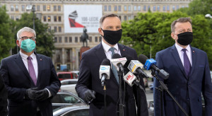 Prezydent przeprasza za Polaków, którzy w czasie epidemii zachowali się podle