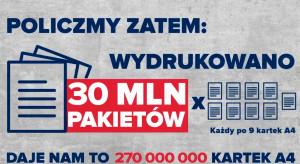 """KO prezentuje 30-kilometrową """"wieżę Sasina"""""""