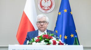 Czaputowicz: Polska z pandemii może wyjść mocniejsza