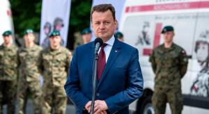 Błaszczak: zdolności wojskowe UE i NATO powinny się uzupełniać