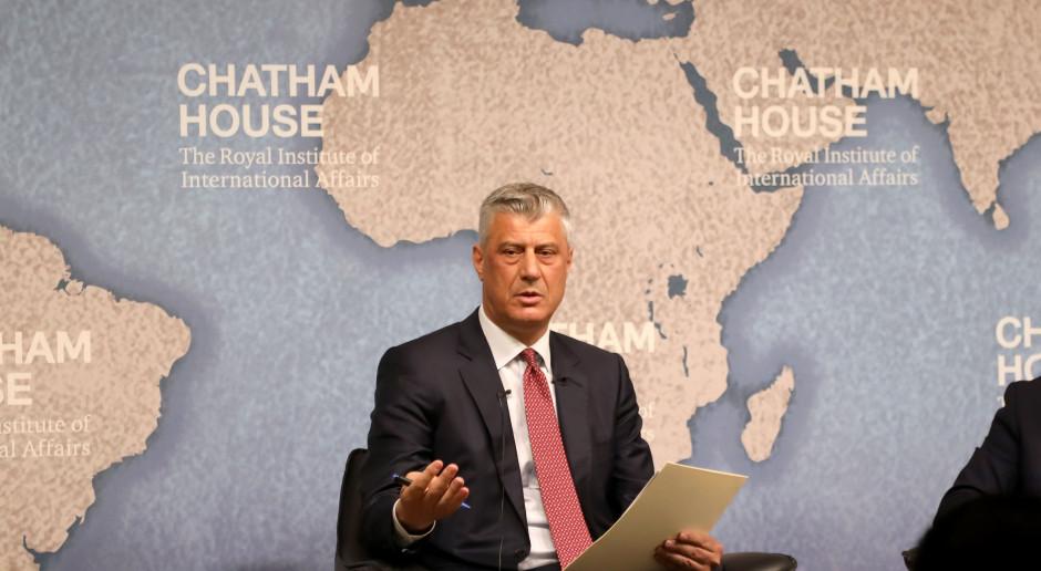 Prezydent Kosowa zapowiada ustąpienie po formalnym oskarżeniu