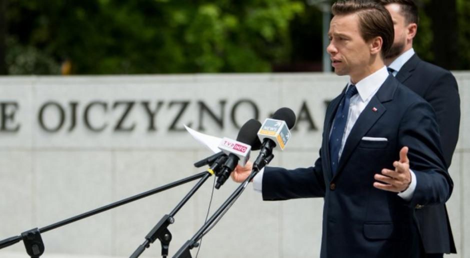 Bosak: Wyniki wyborów świadczą o tym, że Konfederacja idzie do przodu