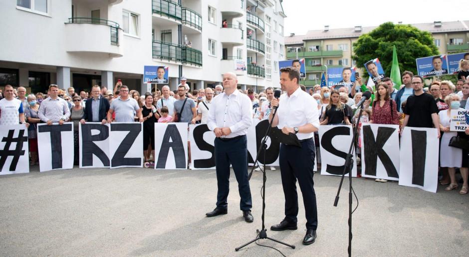 Trzaskowski: Andrzej Duda powinien pojawić się na debacie organizowanej przez inne telewizje