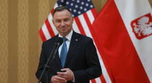 Duda: Polska jest bezpieczniejsza, firmy z USA inwestują w naszym kraju