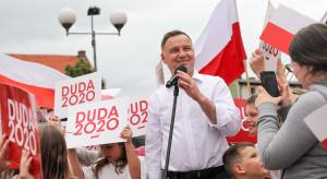 Duda: nie ma zgody, by prezydentem RP został człowiek, który działa przeciw Polsce