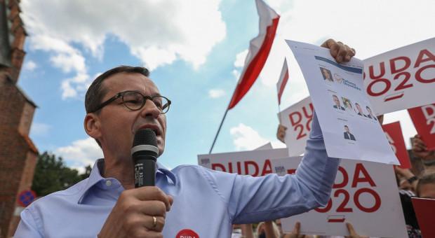 Premier do Trzaskowskiego: Niech pan odbędzie debatę najpierw sam ze sobą