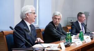 Jacek Czaputowicz podsumował spotkanie Grupy Wyszehradzkiej w Wadowicach