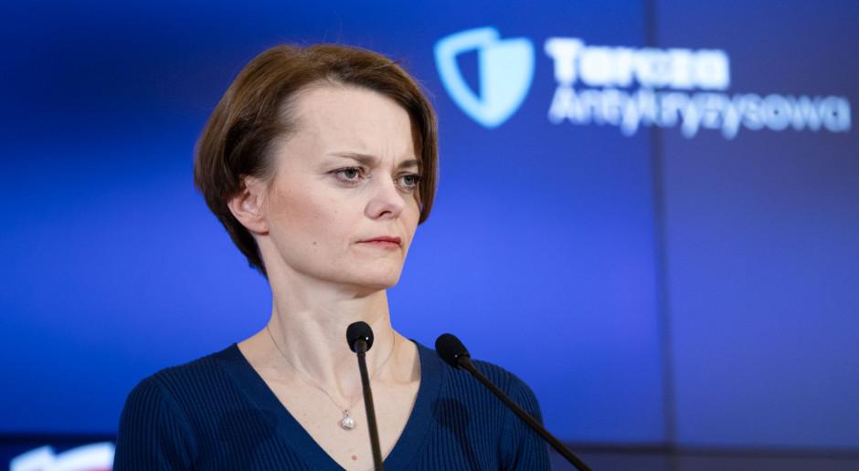 Jadwiga Emilewicz: o rekonstrukcji rządu zdecydują liderzy partii, najwcześniej po wakacjach