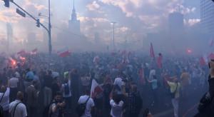 """""""Stop masowej imigracji"""" na Marszu Powstania Warszawskiego"""