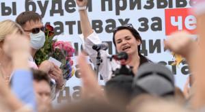 Liderka białoruskiej opozycji Cichanouska jest bezpieczna na Litwie