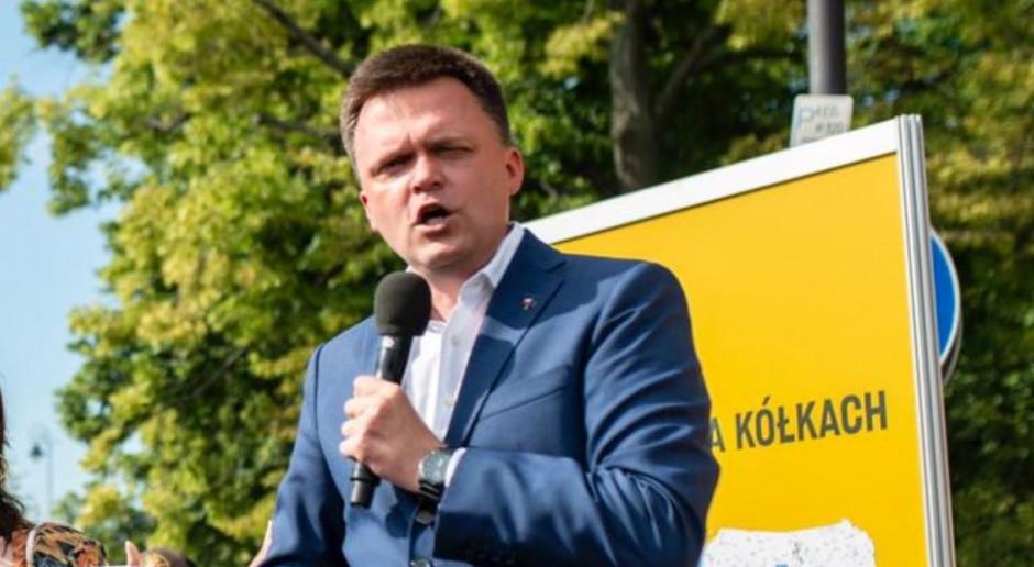 Szymon Hołownia apeluje o przyjęcie przez Polskę 50 dzieci ze spalonego obozu Moria