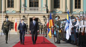Andrzej Duda i Wołodymyr Zełenski zajęli wspólne stanowisko w sprawie Krymu