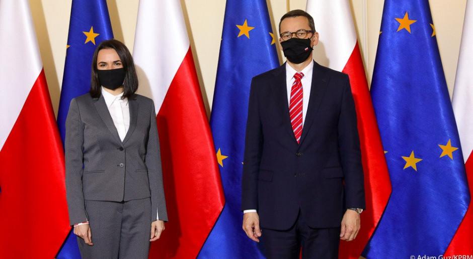 Cichanouska: nie chcemy mieszkać w Polsce kosztem innych