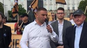 """Bąkiewicz zapowiada powstanie """"Straży Narodowej"""", której celem będzie m.in. obrona kościołów"""