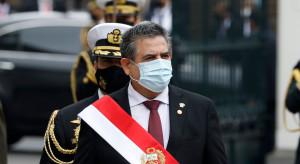 Tymczasowy prezydent Peru zrezygnował po masowych protestach