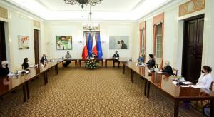 Prezydent Andrzej Duda spotkał się z członkami komisji ds. pedofilii