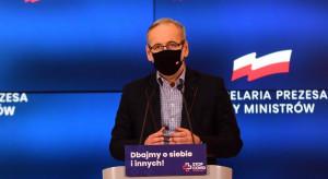 Niedzielski: Mamy trzecią falę koronawirusa w Polsce
