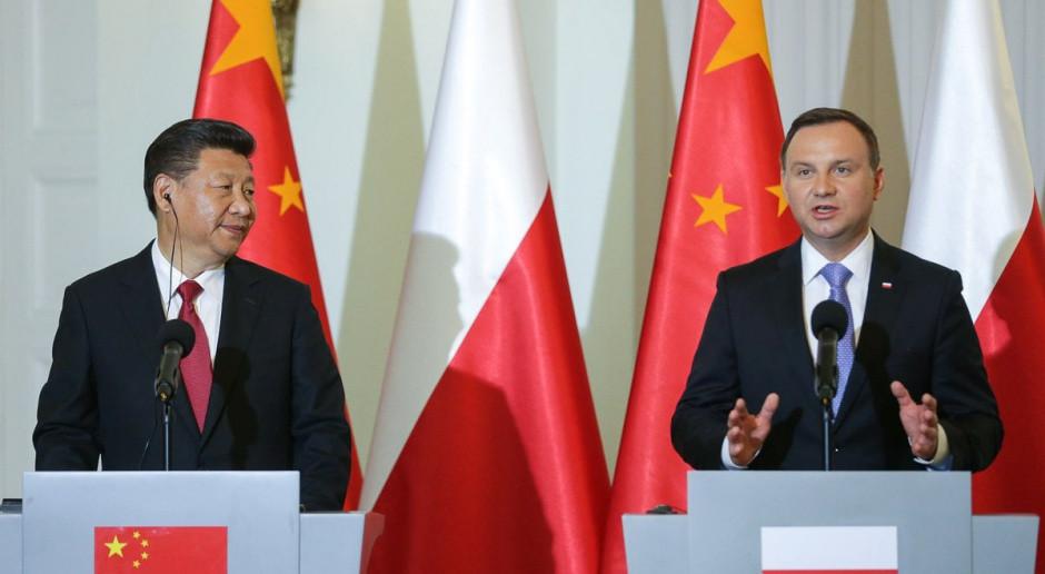 Xi podczas wizyty Andrzeja Dudy w Chinach w 2016 r. Fot. KPRP