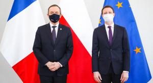 Tomasz Grodzki spotkał się z francuskim ministrem Clementem Beaune
