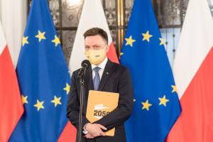 """Szymon Hołownia: chcemy """"nowego rozdania"""""""