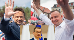 Trzaskowski, Duda i Morawiecki liderami rankingu zaufania