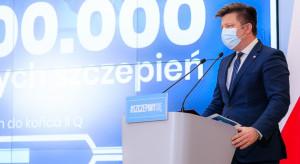 Dworczyk: Pozytywnie oceniam zaangażowanie samorządów w proces szczepień