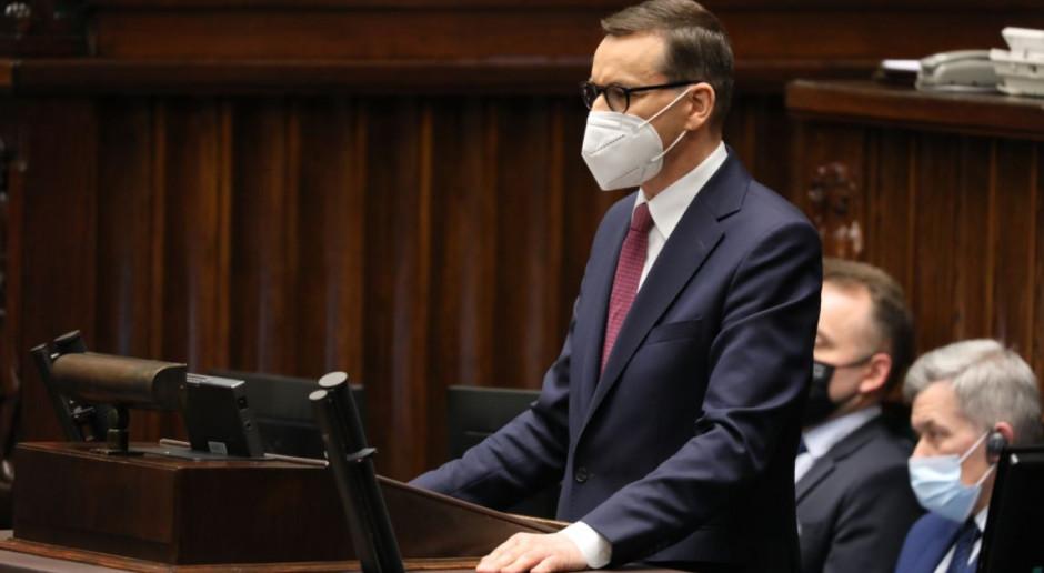 """Premier: powiedzmy dziś głośne """"tak"""" dla rozwoju Polski"""