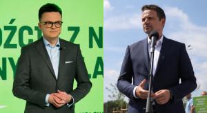 Hołownia i Trzaskowski razem silniejsi od Zjednoczonej Prawicy