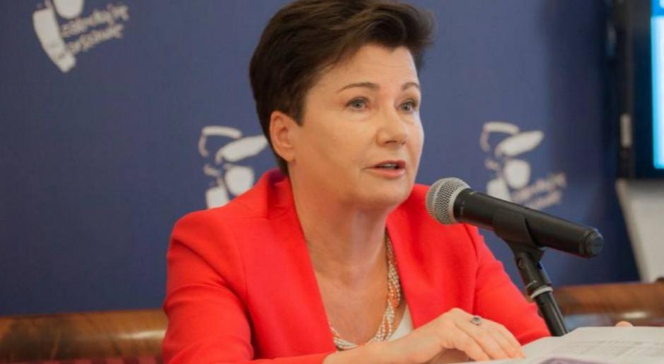 Gronkiewicz-Waltz: jeżeli nic się nie zrobi, to PO z pewnością będzie miała niedługo jednocyfrowe poparcie