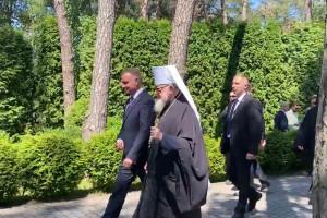 Prezydent odwiedził klasztor prawosławny na Świętej Górze Grabarce