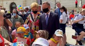 Prezydent spotkał się z dziećmi