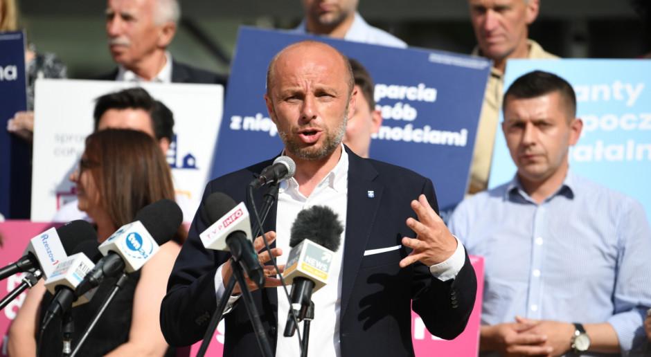Rzeszów: Konrad Fijołek zagłosował w wyborach na prezydenta miasta