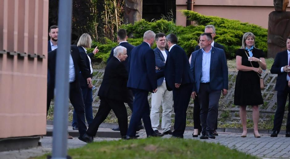 Kaczyński zganił koalicjantów i zaakcentował konieczność jedności i współpracy