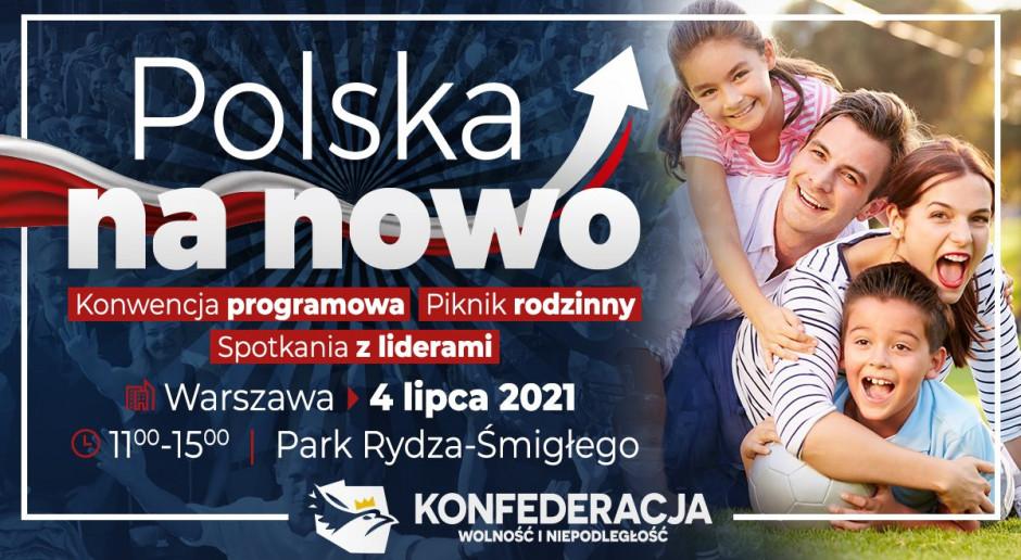 """""""Polska na nowo"""" - to hasło programu Konfederacji"""