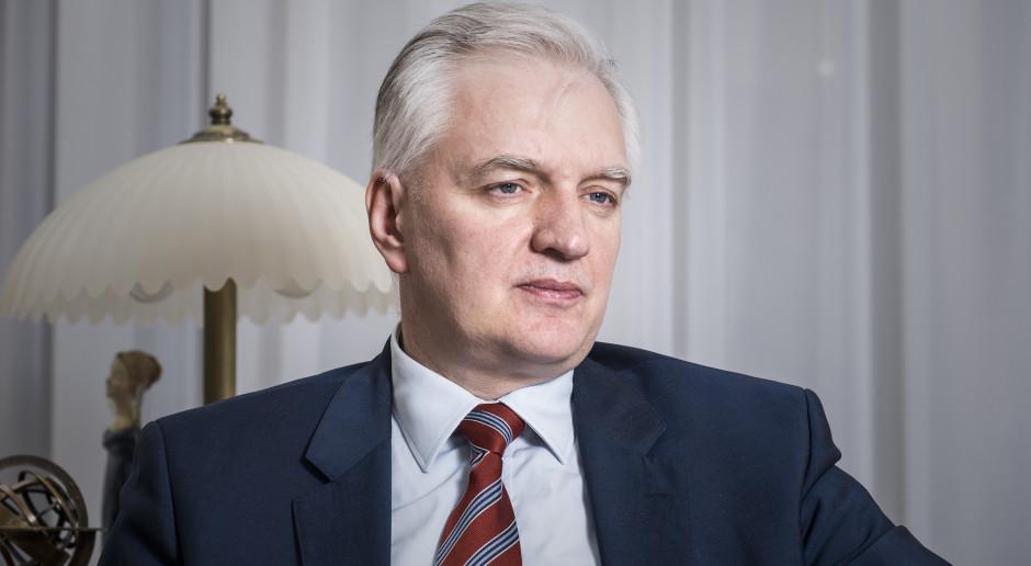 Jarosław Gowin: powrót Tuska byłby korzystny dla Zjednoczonej Prawicy