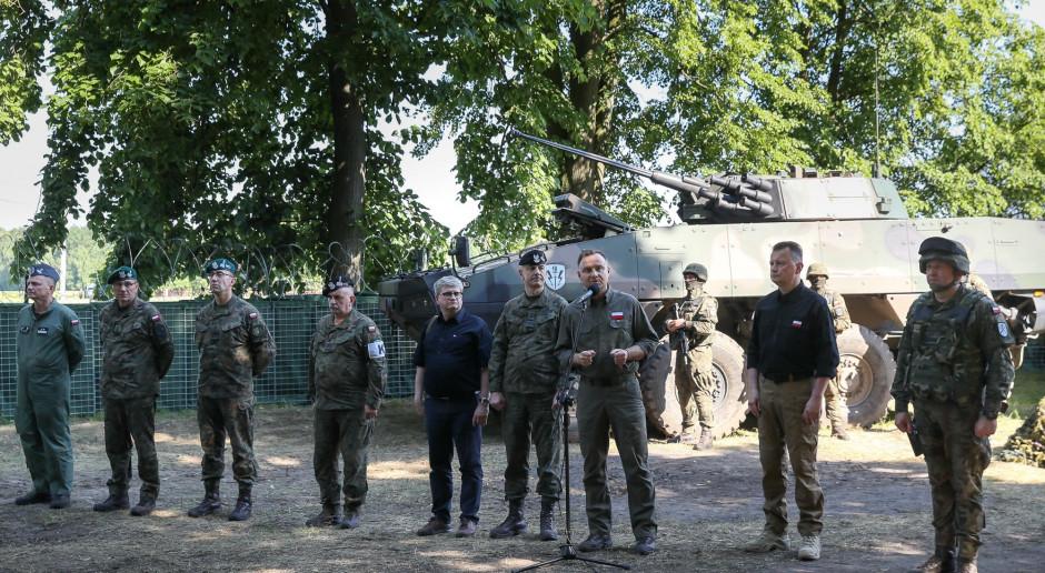 Prezydent: Rozpoczęliśmy proces przywracania Wojska Polskiego na wschodzie kraju