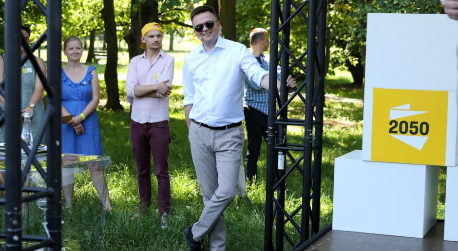 Hołownia: We wrześniu przedstawimy kompletny plan dla Polski, z którym pójdziemy do wyborów