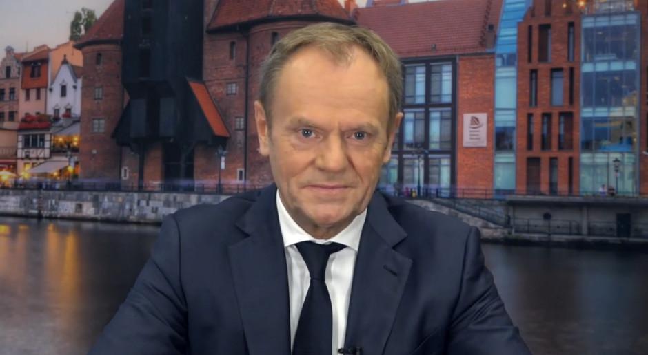 Sondaż dla rp.pl.: 44,8 proc. badanych nie chciałoby ponownego zaangażowania Tuska w polską politykę