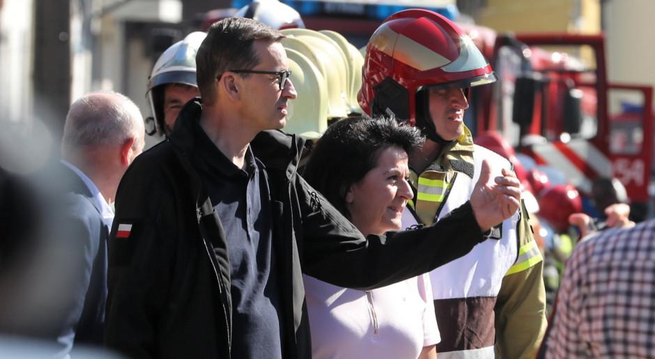 Premier: Od 30 lat nie było na Podhalu tak strasznego pożaru