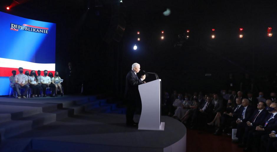 Kaczyński na Zjeździe Republikańskim: wierzę, że razem zrealizujemy wielki plan dla Polski