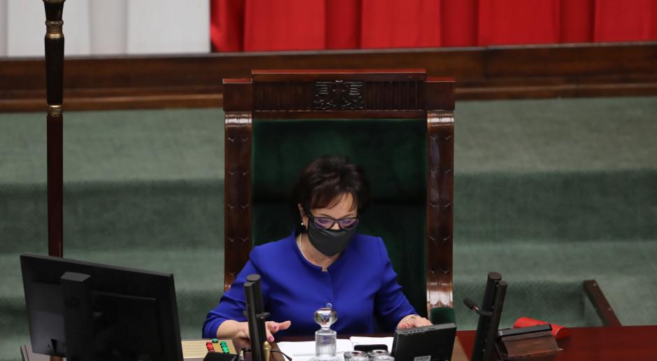 Elzbieta Witek: nie ma podstaw prawnych dla odtajnienia posiedzenia Sejmu