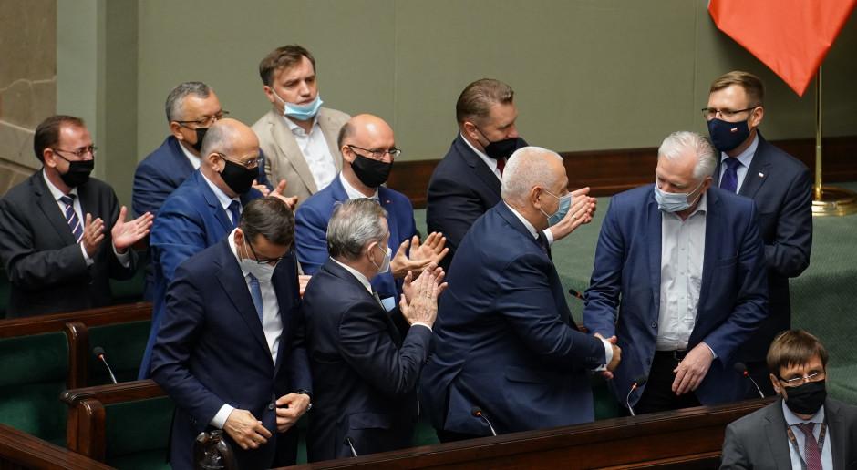 Sejm odrzucił wniosek o wotum nieufności wobec Jacka Sasina