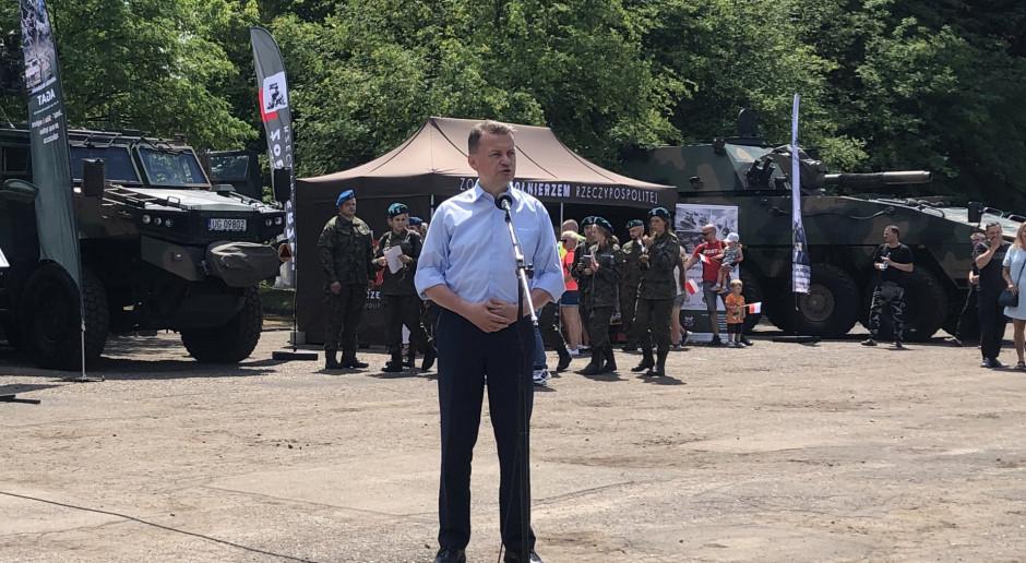 Szef MON: Dzięki żołnierzom WOT Polska jest silniejsza