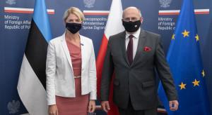 Szefowa MSZ Estonii: Polska i Estonia myślą podobnie w wielu dziedzinach i chcą ze sobą współpracować