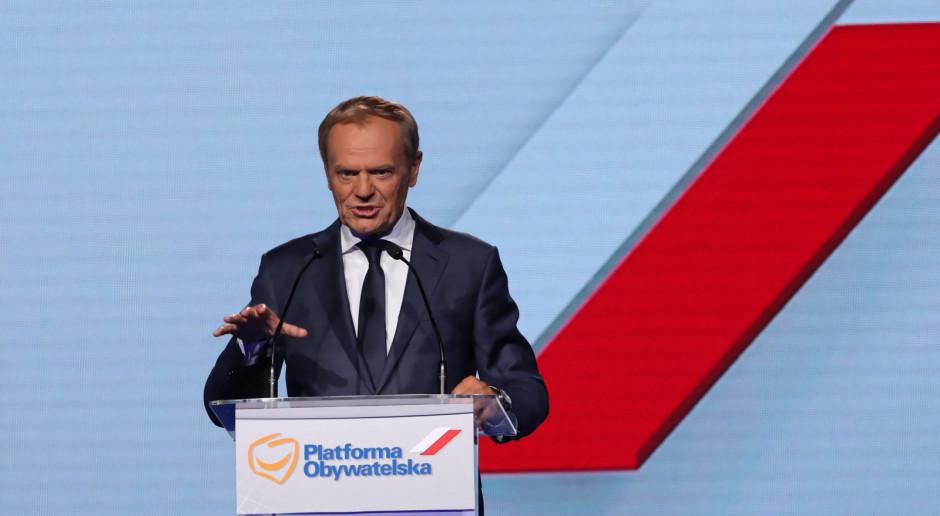 Fogiel: Donald Tusk ma spróbować przekonać elektorat PO, że warto zostać i nie iść do Szymona Hołowni