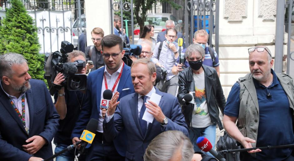 Tusk: Emerytowany ratownik polskiej demokracji, to byłoby dla mnie więcej niż szczęście