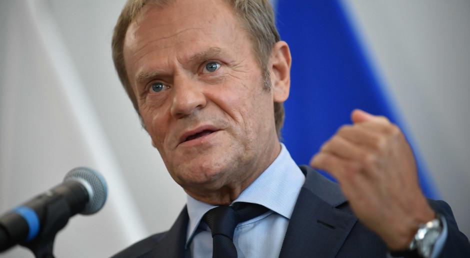 """Donald Tusk: wśród opozycji potrzebny jest """"pakt o nieagresji"""""""
