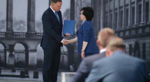 Prezydent przekazał marszałek Sejmu projekt ustawy dotyczącej odbudowy Pałacu Saskiego